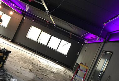 Kempower Electrical Contractors in Retford | Commercial Lighting